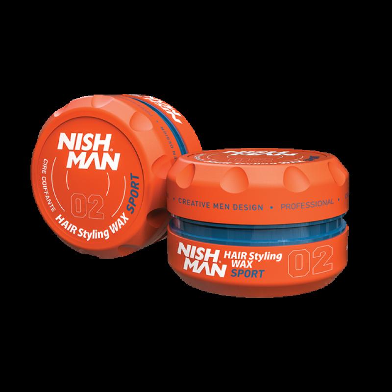 Nishman Saç Şekillendirici Wax No.02 - 150 ML & 100 ML