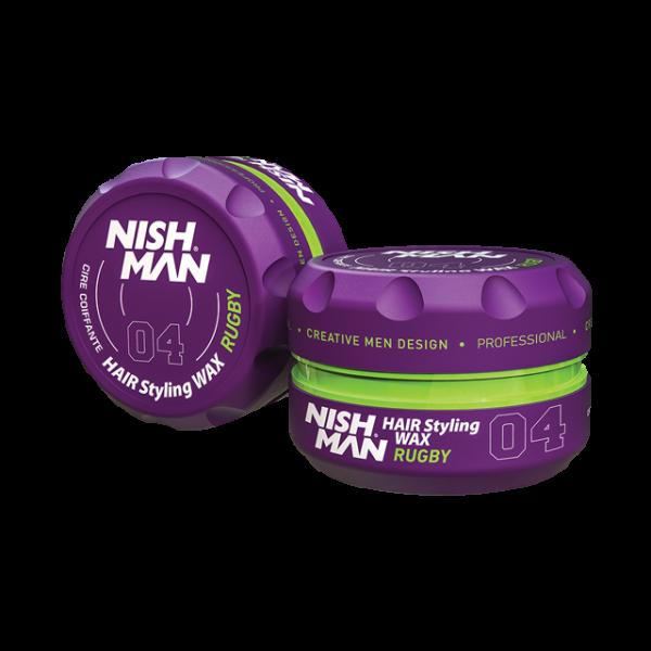 Nishman Saç Şekillendirici Wax No.04 - 150 ML & 100 ML