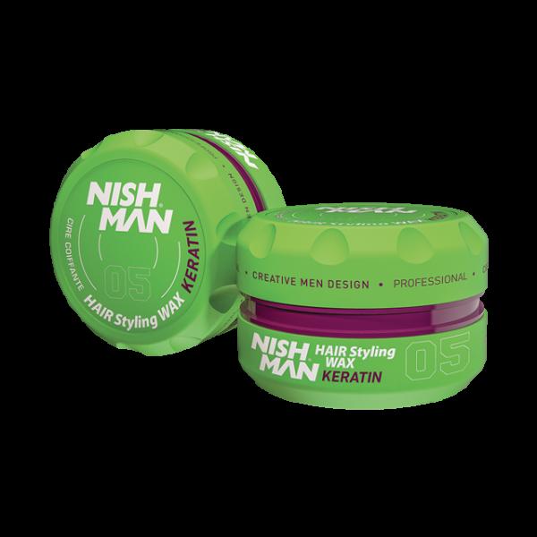Nishman Saç Şekillendirici Wax No.05 - 150 ML & 100 ML