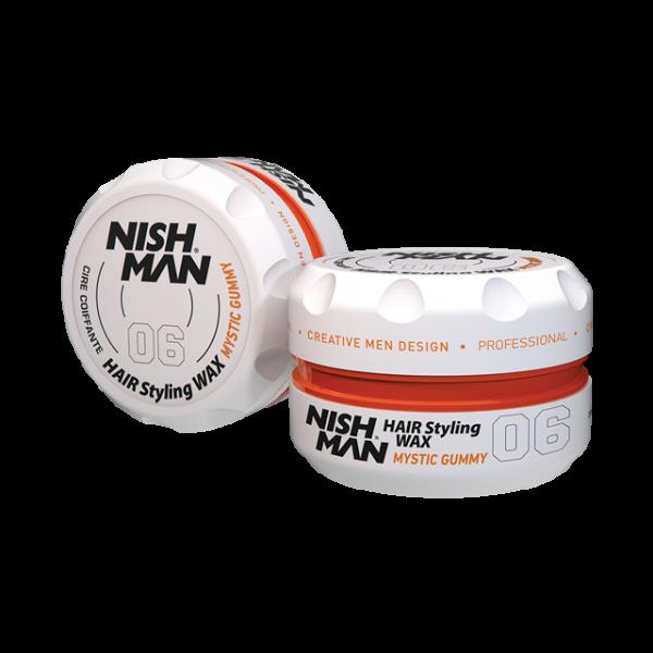 Nishman Saç Şekillendirici Wax No.06 - 150 ML & 100 ML