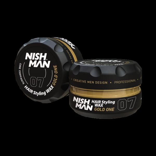 Nishman Saç Şekillendirici Wax No.07 - 150 ML & 100 ML
